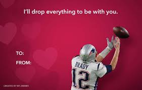 Best Valentine Memes - the best valentine s day cards for the football fan in your life