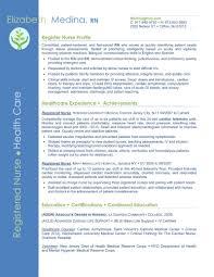 Cover Letter For Nursing Resume resume samples for nursing students