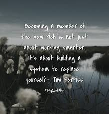 building quotes quote about becoming a member of the new rich is not just about