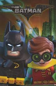 not cool batman movie poster from the lego batman 2017 movie