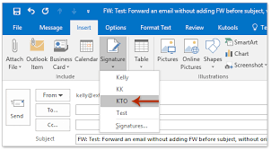 how to forward emails with template in outlook