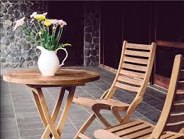 teak bistro set universal patio furniture studio city ca