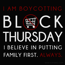 it s thanksgiving not black thursday