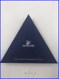 2004 swarovski snowflake annual ornament in box