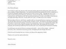 Cover Letter For Any Position Fascinating Cover Letter Examples Internship 3 Job Application For