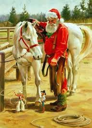 santa on the by tom browning florida