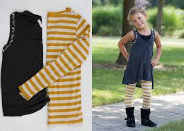 dress pattern 5 year old easy women s tops to child s outfit refashion andrea s notebook