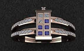 doctor who engagement ring doctor who bling worthy of a time lord cnet