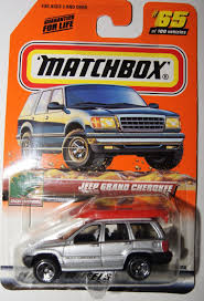 matchbox jeep wrangler matchbox jeep grand cherokee 65 u2013 2000 great outdoors what u0027s it