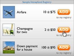 vacation registry wedding honeyfund registry wedding registry for honeymoon expenses or