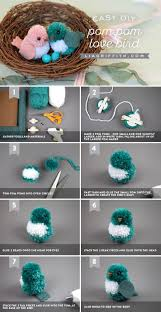 271 best pom pom crafts images on pinterest pom pom crafts pom