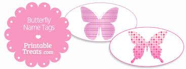 printable butterfly name tags printable treats com