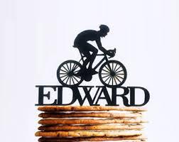 bicycle cake topper bike cake topper etsy