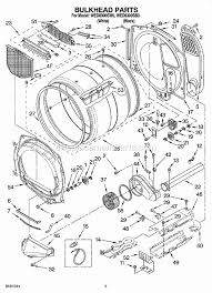 whirlpool wed8300sw0 parts list and diagram ereplacementparts com