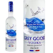 Grey Goose Gift Set Personalised Grey Goose 70cl Grey Goose Vodka At Prestige Drinks