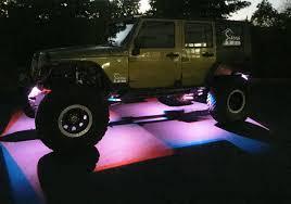 jeep light bar at night sierra led lights revolutionary dual amberwhite led