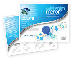 one page brochure template developed network brochure template design and layout