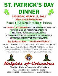 st patrick u0027s dinner council 12451 u2013 knights of columbus orange co ca