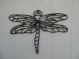 Butterfly Kitchen Decor Custom Dragonfly 2ft Metal Wall Art Home Garden Kitchen Decor By
