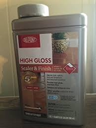dupont semi gloss sealer and finisher by dupont amazon com