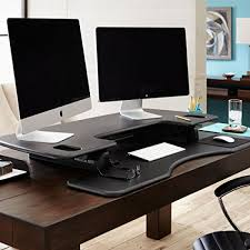 sitz steh schreibtisch steharbeitsplatz varidesk pro plus 48 für