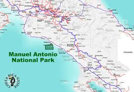 Olympic National Park Map Manuel Antonio National Park Costa Rica