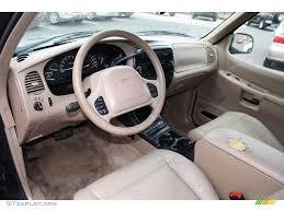 medium prairie tan interior 2000 ford explorer eddie bauer 4x4