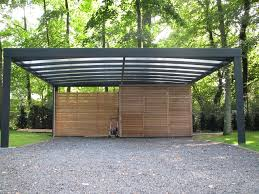 design carport holz stahl carport