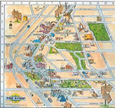 las vegas blvd map las vegas map map of las vegas