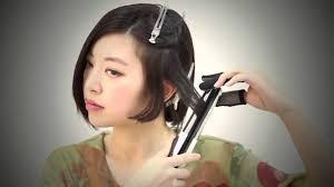 hairstyles asian hair short wavy hair tutorial with straightener cute asian hairstyles