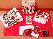 bathroom floral peri bath towels u0026 washcloths ebay