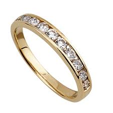 gold eternity ring buy an eternity ring online fields ie