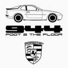 porsche 944 logo porsche 924 944 drive