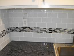 astounding glass subway tile backsplash picture and kitchen