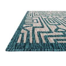 loloi newport grey u0026 teal np 09 indoor outdoor area rugs