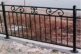 wrought iron fence ideas custom ornamental iron for home garden