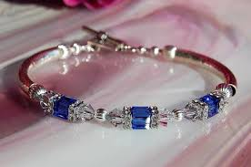 sapphire crystal bracelet images Bracelets tagged quot swarovski quot zingo gallery JPG