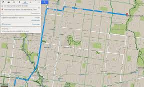 Google Map Route by How To Find A Safe Convenient Route To A Regular Destination