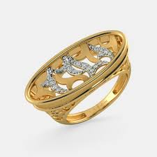 golden hand rings images Gold rings buy 1200 gold ring designs online in india 2018 png