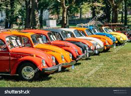 volkswagen yellow car vehicle retro nyc usa august 25 2013 retro stock photo 301015121 shutterstock