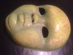 Creepy Masks How To Creepy Doll Mask Repaint
