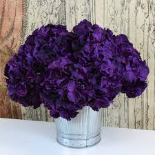 purple hydrangea silk ka faux flowers purple hydrangea spray curated living