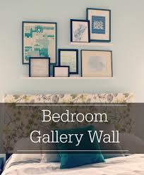 bedroom gallery wall diy mama