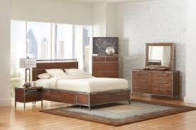 arcadia contemporary weathered acacia wood 2pc bedroom set w king