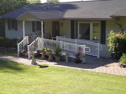 Back Porches Porches Project Four 10 X 50 Back Porch Pocono Modular Homes