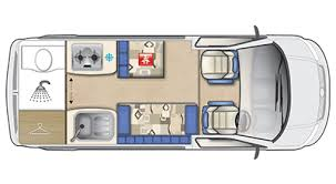 Conversion Van Floor Plans Topaz Vw Motorhome Vw Van Conversion Auto Sleepers
