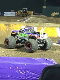 monster truck show oakland sandys2cents monster jam oakland ca o co coliseum 2 18 17 review