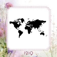 Diy World Map by World Map Country Stencil Craft Diy Reusable Plastic