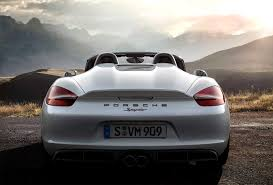 porsche boxster spyder 2016 2016 porsche boxster spyder boasts more power faster 0 60 than