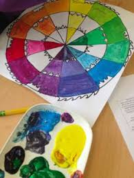 crazy color wheels teach visual pinterest color wheels